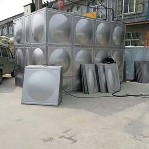热水工程保温水箱
