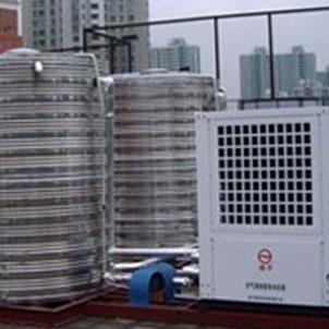 屋顶不锈钢圆形保温水箱