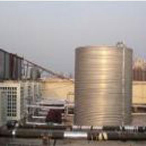 不锈钢圆形保温水箱(可定制批发)