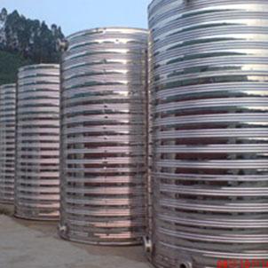 厂家直销304不锈钢材质圆形保温水箱